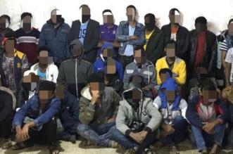 بالصور.. ضبط ١٠٠ مخالف و٤ متهمين بقضية تحرش بمنفوحة الرياض - المواطن
