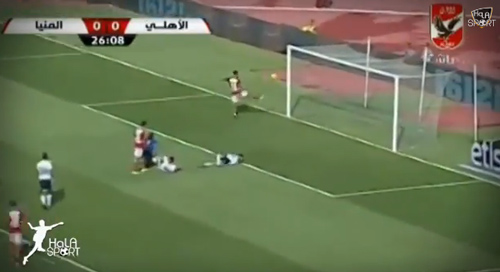 بالفيديو.. هدف قاتل ينقذ الأهلي من فخ المنيا في كأس مصر - المواطن