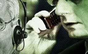 تنصت على المكالمات
