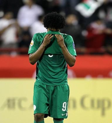 حزن المنتخب السعودي - خيبه امل - لاعب