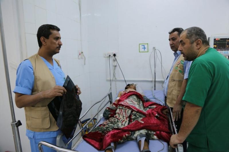 بالصور.. 27 عملية جراحية يُجريها فريق طبي بدعم مركز الملك سلمان في مأرب