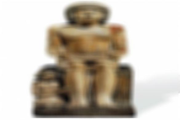 """تمثال """"سخم كا"""" الحجري النادر"""