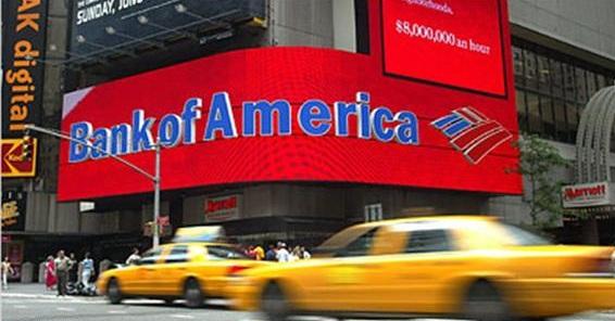 بنك أوف أمريكا يدفع 800 مليون دولار تعويضات لمستهلكين - المواطن