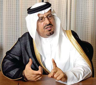 سعود بن عبدالمحسن بن عبدالعزيز أمير منطقة حائل