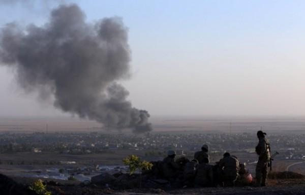 طائرات التحالف تدمر أربع عربات لتنظيم داعش الإرهابي