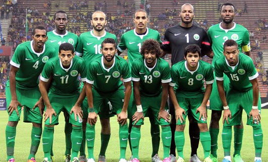 تشكيلة المنتخب السعودي كاس الخليج