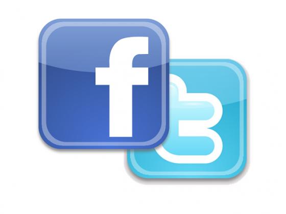 فيسبوك تويتر