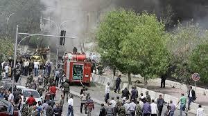 66 قتيلاً وجريحاً في انفجار سيارة مفخخة بالعاصمة دمشق - المواطن