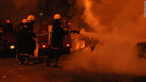 حريق القاهرة القاهره