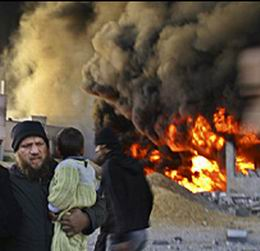 العدو الإسرائيلي يقصف جامعة غزة الإسلامية ويدمر مسجداً