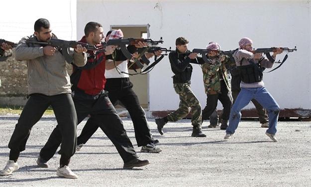 الحرب الاهلية سوريا