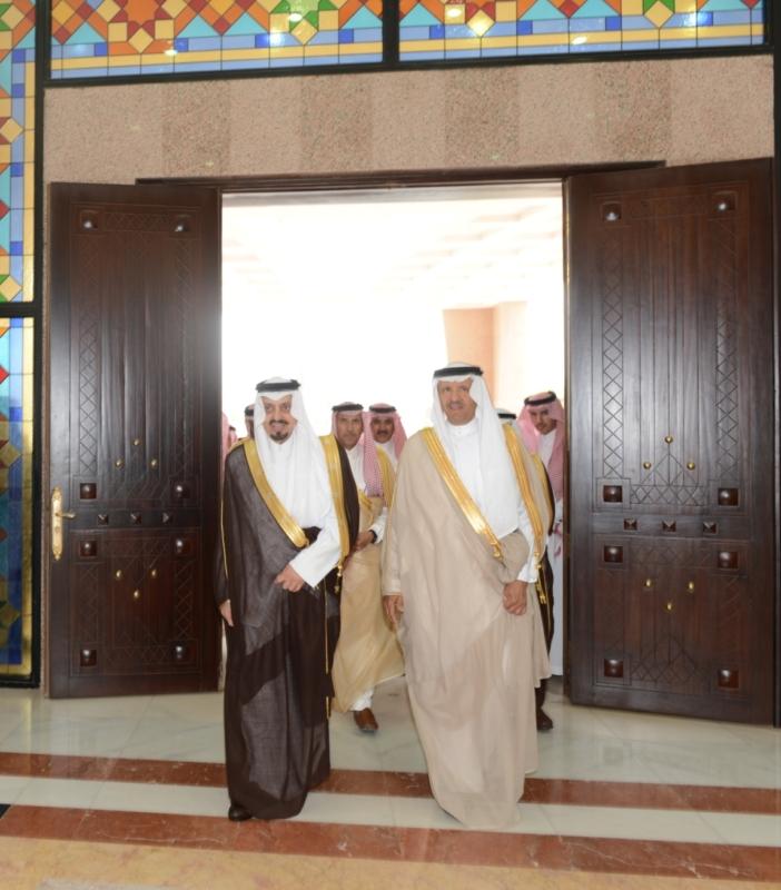 صور استقبال امير عسير للأمير سلطان بن سلمان