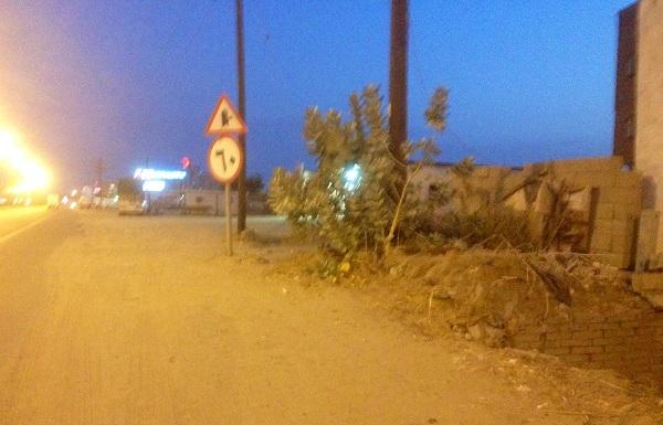 بالصور.. فخ لقائدي المركبات بمحاذاة الطريق السريع بالمظيلف - المواطن