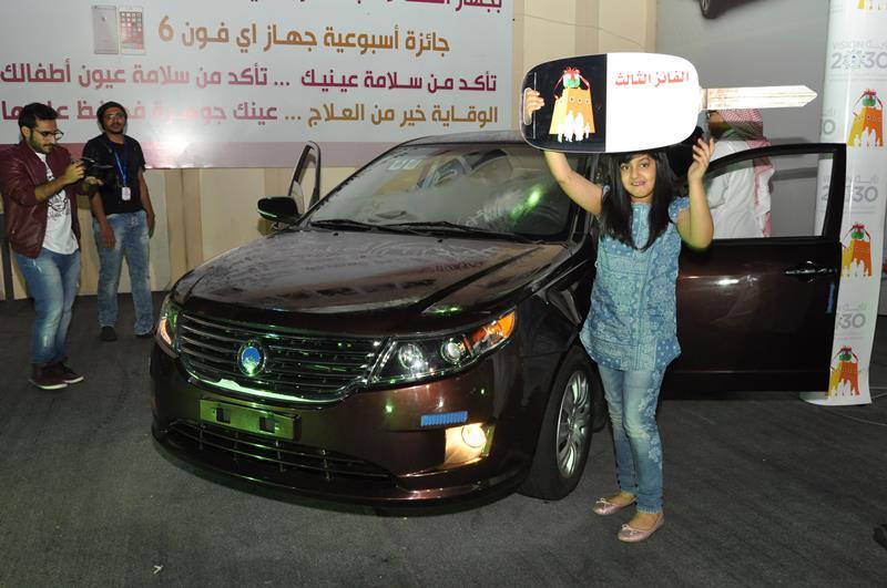 الشهرانييربح السيارة الثالثة المقدمة من ستار بمهرجان أبها للتسوق ٣٧