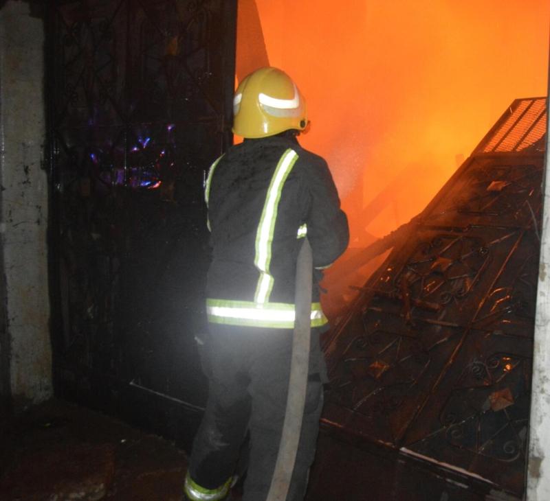 حريق المدينة المنورة