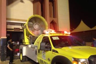 بالصور.. ١٧ حالة هلع وخوف ونقل ٢ للمستشفى بحادثة صالة الأفراح بالرياض - المواطن