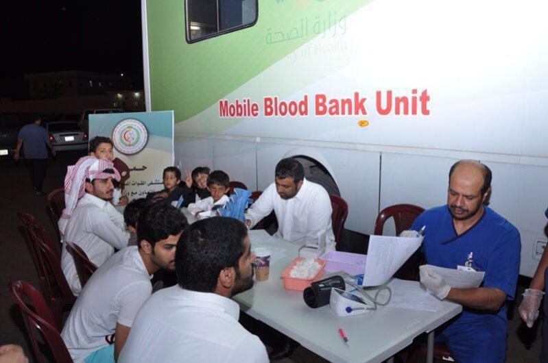مستشفيات القوات المسلحة بالجنوب تقيم حملة التبرع بالدم بمهرجان أبها للتسوق