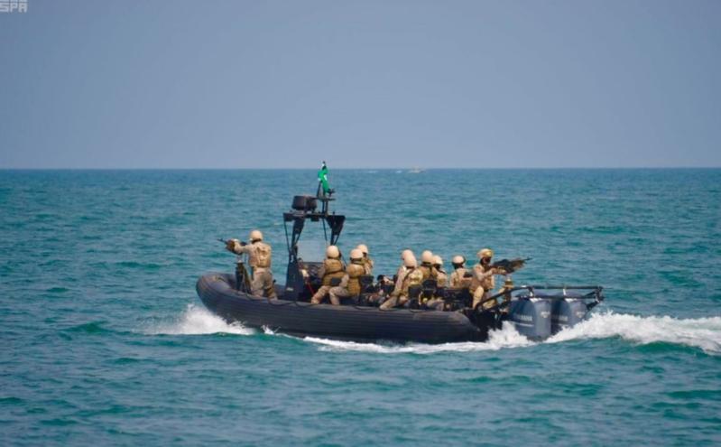 صور وكالة الأنباء السعودية للقوات البحرية بجازان