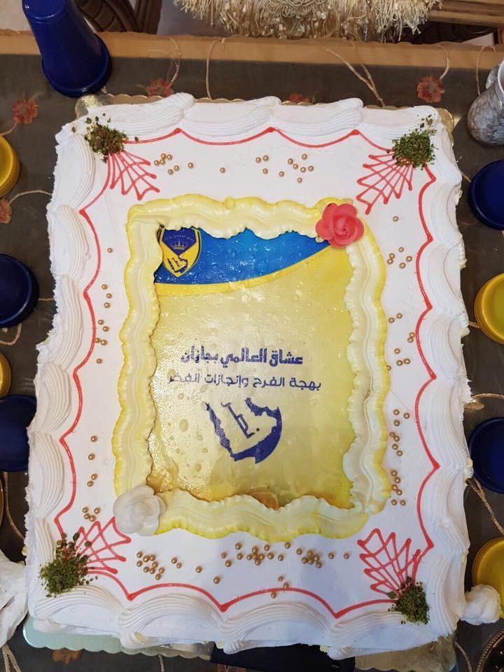 """جماهير العالمي توثق إنجازاتها بـ""""كتاب"""" يحمل شعار النصر"""
