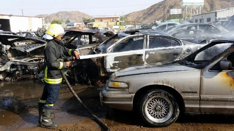 إصابة ثلاثة مقيمين نتيجة مقذوف حوثي على نجران