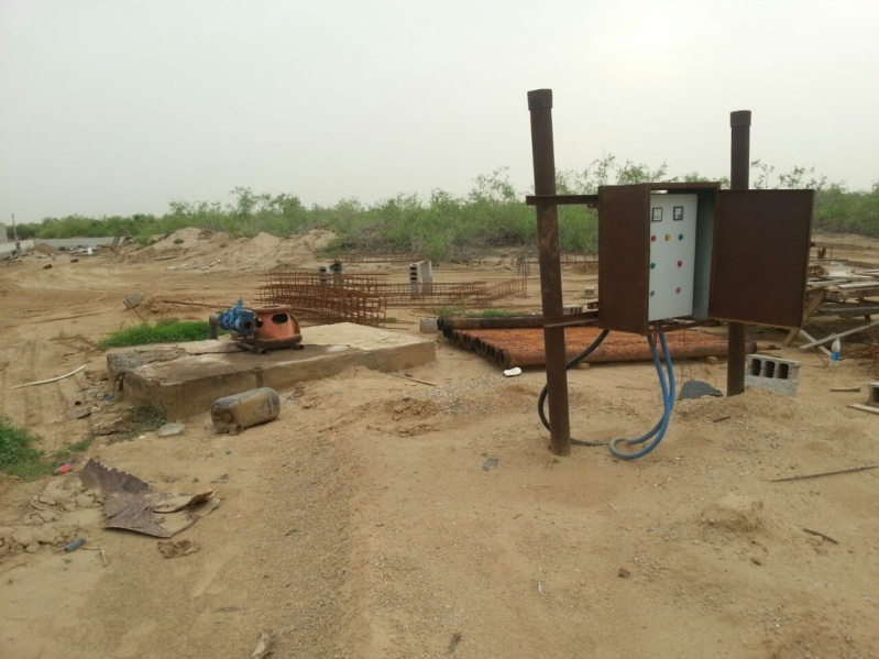 تفاعلاً مع المواطن مياه جازان تركيب مضخة مياه جديدة في قرية ابوالسلع