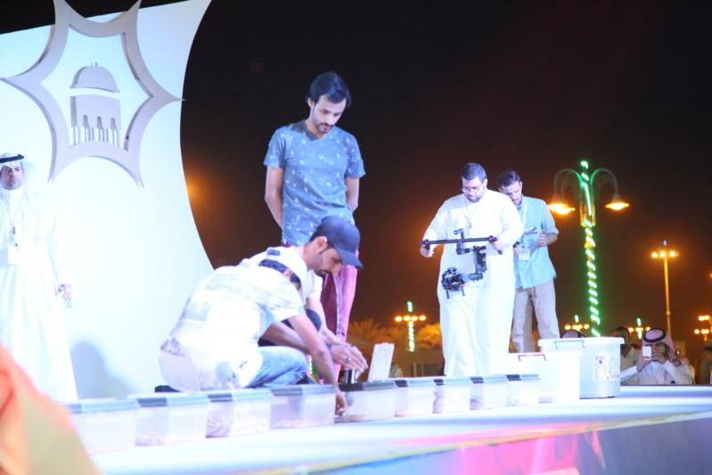 شاهد .. #مهرجان_صيف_رفحا في أول لياليه يتميز بـ العليوي والظفيري والعقيلي