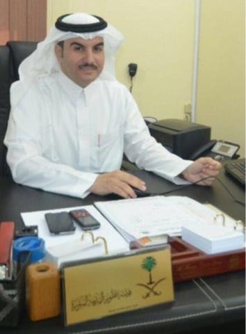الاستاذ عبدالرحمن الدهاس بعد أعتماد مدير الشؤون الصحية بتعيينه ممثلاً لبرنامج الخدمات المشترك بمنطقة مكة المكرمة