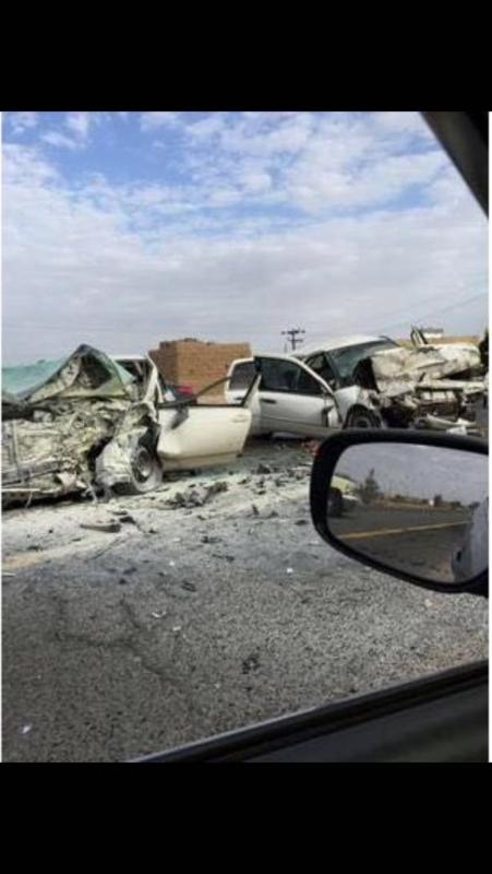 حادث خميس مشيط