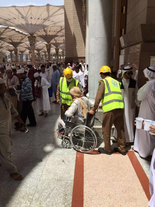 بالصور .. مدني المدينة يستعد لخدمة ضيوف الرحمن