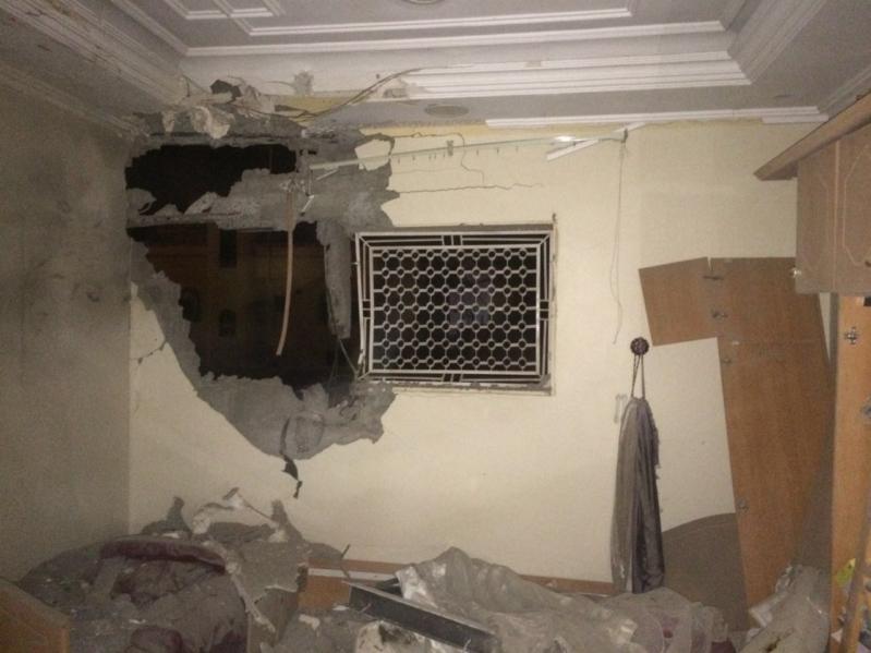 منزل مواطن متضرر
