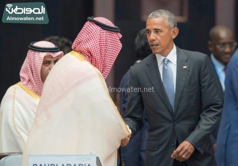 ولي ولي العهد في قمة العشرين