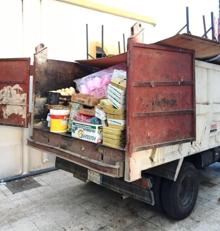 إزالة 222 بسطة عشوائية ومصادرة ٧٧٠٠ صندوق فاكهة بالسودة