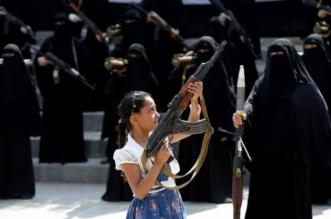 الحوثيين يجندون النساء والأطفال