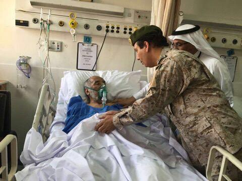مدير مستشفى القوات المسلحه بالجنوبيه يزور المرضى والمنومين