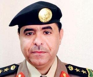 الناطق الاعلامي لشرطة منطقة الباحة العقيد سعد صالح طراد