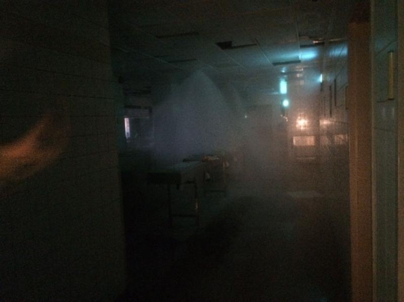 حريق مطبخ نجران