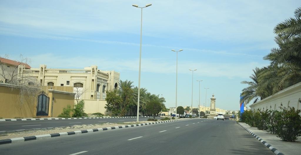 النقل تنجز أطوالًا بقرابة 3 ملايين متر في الطرق خلال فترة منع التجول