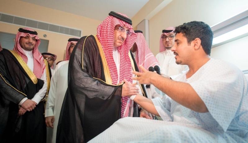 محمد بن نايف لمصابي تفجير جدة