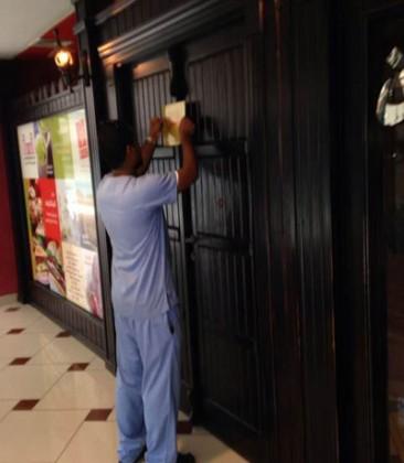 جدة اغلاق مطعم