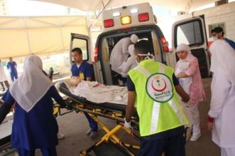 """بالصور.. تنفيذ خطة إخلاء افتراضية بـ""""سعود الطبية"""" خلال 6 دقائق - المواطن"""