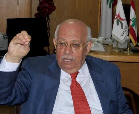 وزير الشؤون الاجتماعية اللبناني رشيد درباس