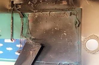 بالصور.. حريق في مدرسة بنات بأبي عريش يُخلي الطالبات - المواطن
