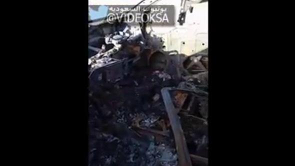 #تيوب_المواطن :مواطن يوثق سلامة مصحف داخل أفالون التهمتها النيران - المواطن