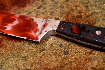 طعن - سكين - دم