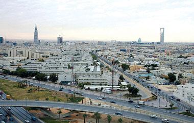 شرق مدينة الرياض