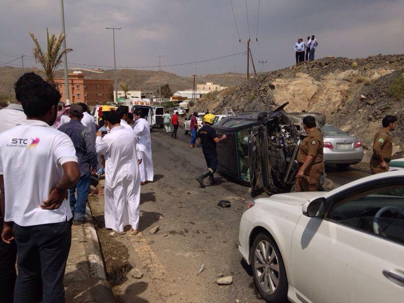 وفاة و10 إصابات حصيلة حوادث طريق الباحة- العقيق اليوم - المواطن