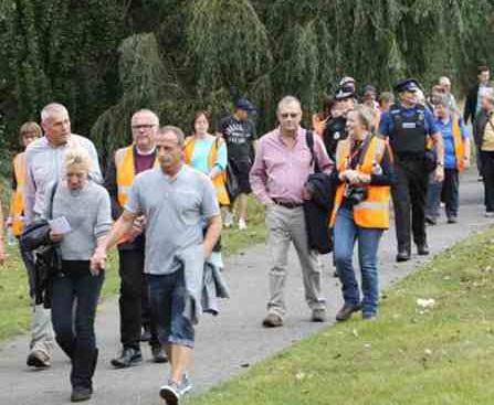 مسيرة لبريطانيين من مكان مقتل ناهد المانع للمطالبة بضبط الجاني