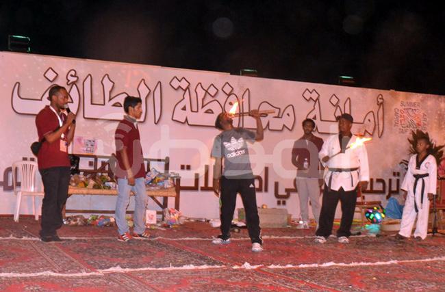 اختتام فعاليات عيد الطائف بألعاب بهلوانية وعروض فلكلورية - المواطن