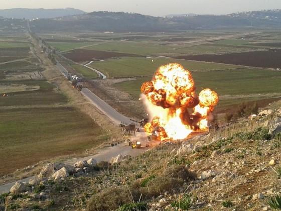 انفجار حقل غاز-