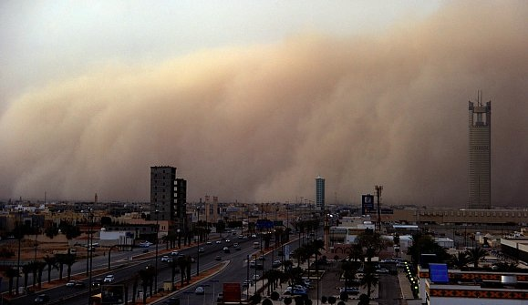 موجة من الغبار تؤثر على الشرقية والرياض